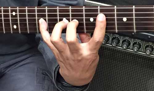 ギター 指の長さ04