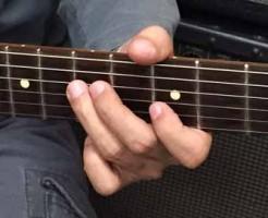 ギター 指の長さ01