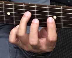 ギター 指の長さ02