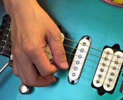 ギター ブリッジミュート 01