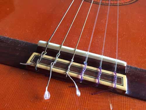 クラシックギター 弦01